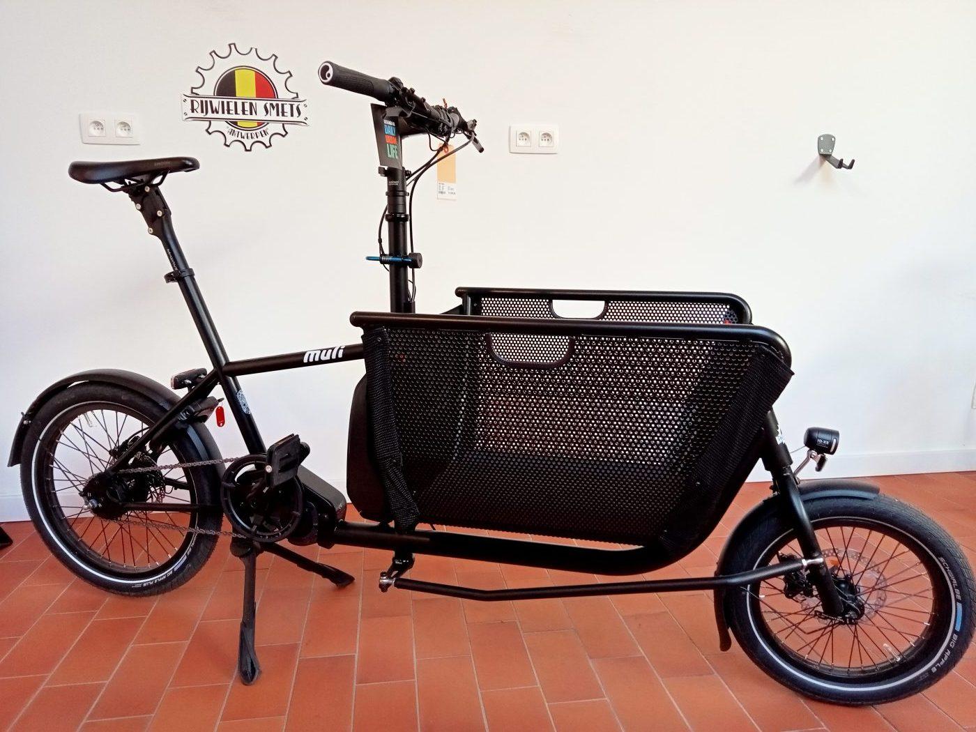 Muli compact cargobike